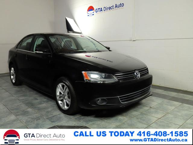 2013 Volkswagen Jetta HIGHLINE TDI Sunroof Leather DSG KeyGo Certified