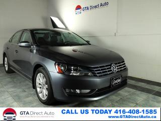 Used 2013 Volkswagen Passat Highline TDI Sunroof FenderSound Leather Certified for sale in Toronto, ON