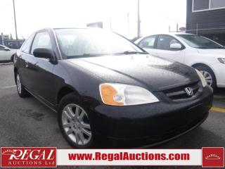 Used 2002 Honda Civic SI 2D Coupe for sale in Calgary, AB