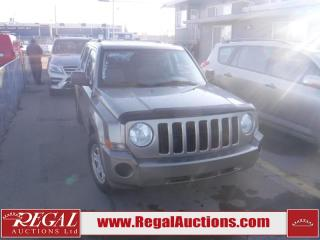 Used 2007 Jeep Patriot 4D Utility 4WD for sale in Calgary, AB