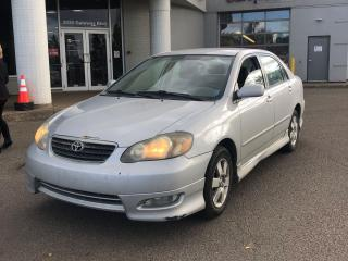Used 2005 Toyota Corolla S  LOW MILEAGE for sale in Edmonton, AB