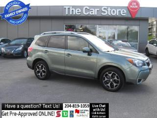Used 2014 Subaru Forester 2.0XT Touring LEATHER! sunroof BLUETOOTH camera! for sale in Winnipeg, MB