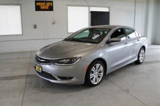 Used 2016 Chrysler 200 Limited|HEATED SEATING|LOW MILEAGE|10,183 KM for sale in Cambridge, ON
