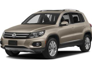 Used 2015 Volkswagen Tiguan Trendline CONVENIENCE PACKAGE PORTLAND ALLOYS HEAT for sale in Ottawa, ON