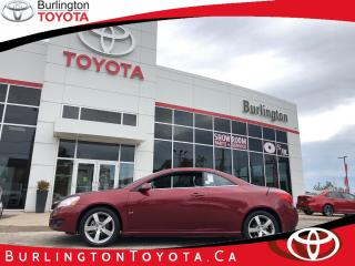 Used 2009 Pontiac G6 GT for sale in Burlington, ON