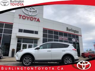Used 2017 Toyota RAV4 LIMITED  for sale in Burlington, ON