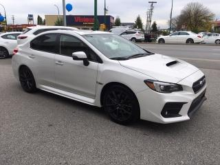 Used 2018 Subaru WRX 4Dr Sport-Tech Pkg 6sp for sale in Burnaby, BC