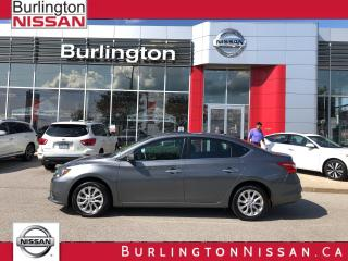 Used 2017 Nissan Sentra SV, MOONROOF, ACCIDENT FREE, 1 OWNER ! for sale in Burlington, ON