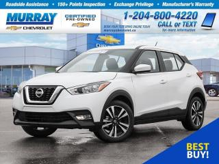 Used 2019 Nissan Kicks *Heated Seats, Bluetooth, Rear View Camera* for sale in Winnipeg, MB
