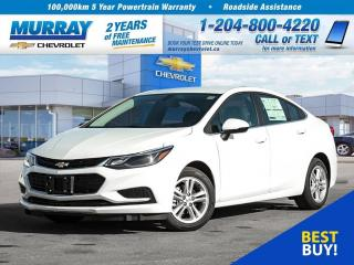 Used 2018 Chevrolet Cruze LT Auto *Remote Start, USB Port, Bluetooth* for sale in Winnipeg, MB
