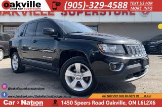 Used 2016 Jeep Compass North | LEATHER | SUNROOF | HIGH ALTITUDE for sale in Oakville, ON