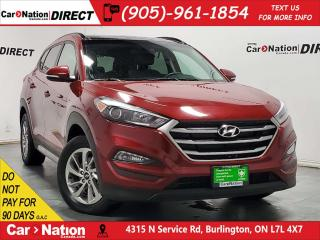 Used 2018 Hyundai Tucson 2.0L SE| AWD| LEATHER| PANO ROOF| for sale in Burlington, ON