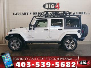 Used 2016 Jeep Wrangler Unlimited Sahara for sale in Calgary, AB