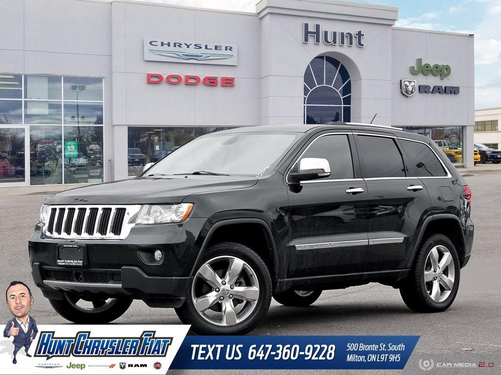 2013 Jeep Grand Cherokee Overland >> Used 2013 Jeep Grand Cherokee Overland 20s V6 Adaptive