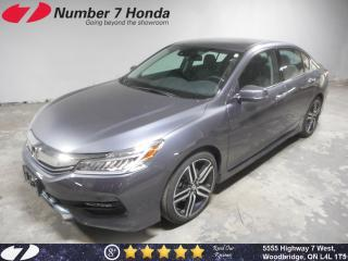 Used 2017 Honda Accord Touring V6| Loaded| Auto-Start| Navi| for sale in Woodbridge, ON