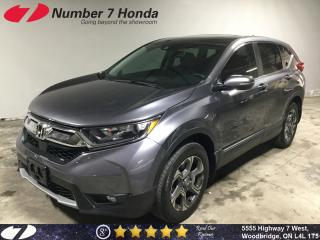 Used 2017 Honda CR-V EX-L| Leather| Sunroof| All-Wheel Drive| for sale in Woodbridge, ON