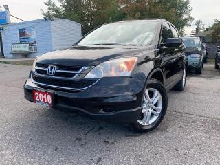 Used 2010 Honda CR-V 4WD 5dr EX SUNROOF POWER Seat ACCIDENT FREE for sale in Brampton, ON