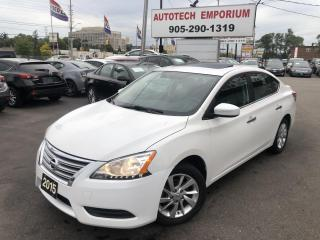 Used 2015 Nissan Sentra SV LUXURY Navigation/Sunroof/Heated Seats for sale in Mississauga, ON