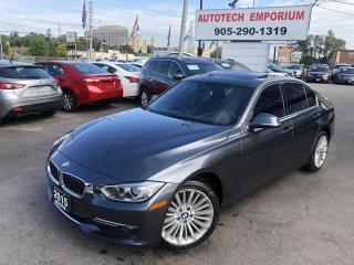 Used 2015 BMW 3 Series 328i xDrive AWD Navigation/Sunroof/Leather/Blind Spot for sale in Mississauga, ON