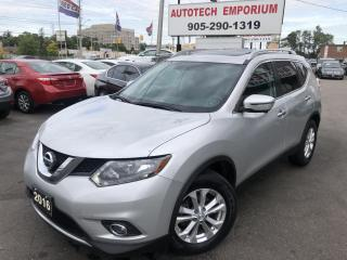Used 2016 Nissan Rogue SV AWD Sunroof/Navigation/Htd Seats/360 Camera for sale in Mississauga, ON