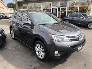 Used 2015 Toyota RAV4 Limited AWD Navigation/Heated Leather/Sunroof for sale in Mississauga, ON
