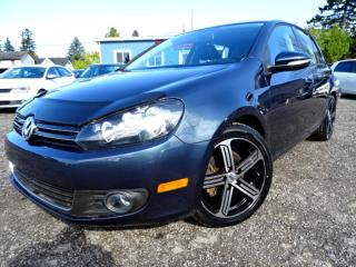 Used 2012 Volkswagen Golf Highline TDI DSG Leather Sunroof Bluetooth Certified for sale in Guelph, ON