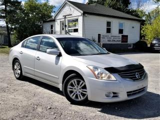 Used 2012 Nissan Altima 2.5 S LOW KMS No-Accidents Push Start Sunroof for sale in Sutton, ON