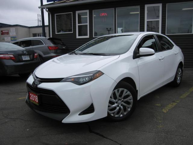 2018 Toyota Corolla LE Heated Seats, Back-Up Camera, Cruise Control, Bluetooth Connectivity