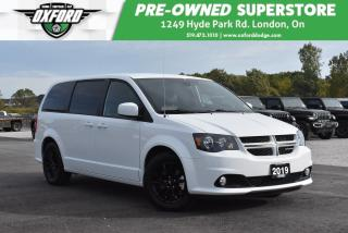 Used 2019 Dodge Grand Caravan GT - Dark Tint, Power Sliding Doors, Backup for sale in London, ON