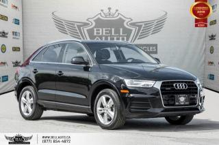 Used 2016 Audi Q3 Progressiv, AWD, NO ACCIDENT, NAVI, PANO ROOF, LEATHER for sale in Toronto, ON