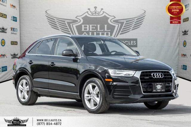 2016 Audi Q3 Progressiv, AWD, NO ACCIDENT, NAVI, PANO ROOF, LEATHER