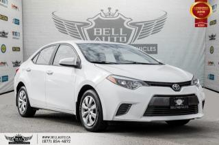Used 2016 Toyota Corolla LE, NO ACCIDENT, BACK-UP CAM, BLUETOOTH, HEATED SEATS for sale in Toronto, ON