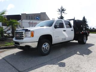 Used 2014 GMC Sierra 3500 HD Flat Deck Crew Cab 4WD for sale in Burnaby, BC