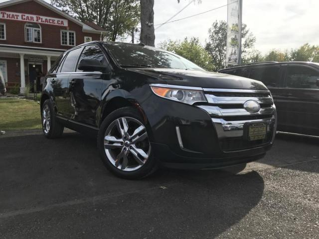2012 Ford Edge Limited AWD AWD-NAV-Chrome-Pwr Liftgate-Backup Camera-Lthr Seats