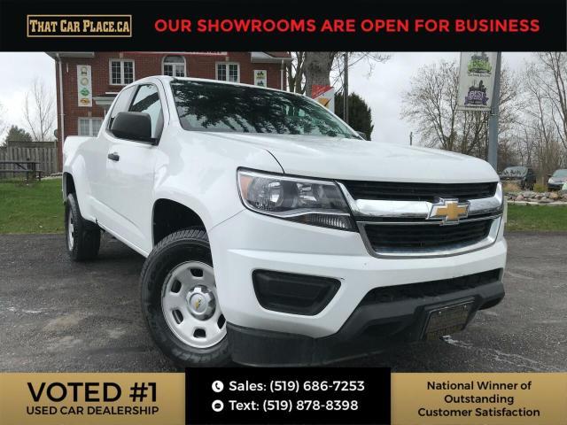 2016 Chevrolet Colorado WT Ext. Cab-BackUpCam-Pwr Windows,Seats, Mirrors-A/C