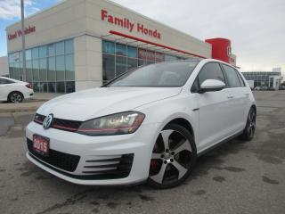 Used 2015 Volkswagen GTI SUNROOF | HEATED SEATS for sale in Brampton, ON