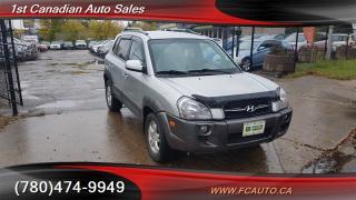 Used 2008 Hyundai Tucson GL for sale in Edmonton, AB