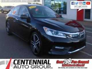Used 2016 Honda Accord Sedan Sport for sale in Summerside, PE