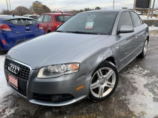 Used 2008 Audi A4 2.0T QUATTRO | AS IS | TOUCHSCREEN MEDIA CENTRE | for sale in Barrie, ON