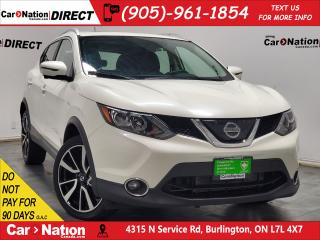 Used 2018 Nissan Qashqai SL| AWD| LEATHER| SUNROOF| NAVI| for sale in Burlington, ON
