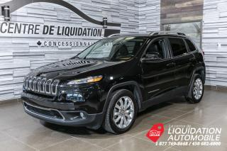 Used 2016 Jeep Cherokee Limited+CUIR+TOIT+GPS for sale in Laval, QC