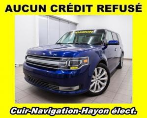 Used 2014 Ford Flex LIMITED AWD HAYON ÉLECT TOIT OUVRANT NAV *CUIR* for sale in St-Jérôme, QC