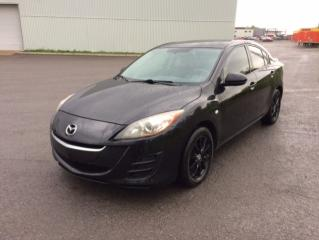 Used 2010 Mazda MAZDA3 Berline 4 portes, boîte manuelle, GX for sale in Quebec, QC