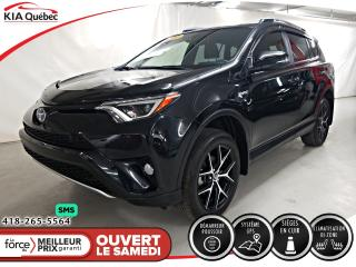 Used 2018 Toyota RAV4 SE* AWD* GPS* CAMERA* VOLANT CHAUFFANT* for sale in Québec, QC