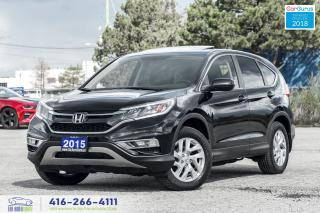 Used 2015 Honda CR-V EX-L AWD 1 OWNER CLEAN CARFAX CERTIFIED WE FINANCE for sale in Bolton, ON