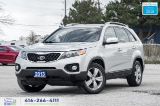 Used 2013 Kia Sorento EX AWD V6 LEATHER/ROOF/NAV/CAM CERTIFIED FINANCING for sale in Bolton, ON