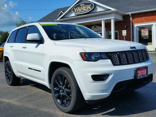 Used 2018 Jeep Grand Cherokee Altitude 4x4, Sunroof, Leather Heated Seats/Wheel, NAV, Tow Pkg, for sale in Paris, ON
