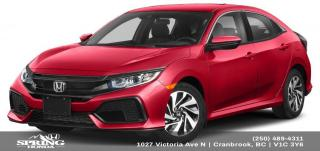 Used 2019 Honda Civic LX for sale in Cranbrook, BC