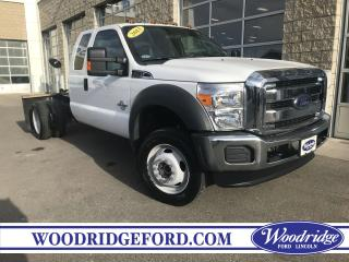 Used 2013 Ford F-550 Chassis XL for sale in Calgary, AB