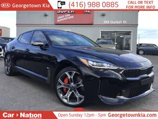 Used 2018 Kia Stinger GT LTD w/Red Int. | AWD | NAV | SUNROOF | HUD DISP for sale in Georgetown, ON